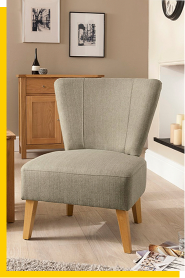 Discover our selection of stylish armchairs to sink into..