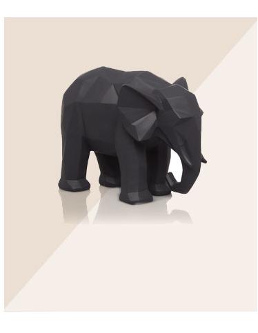 Geometric Elephant Ornament