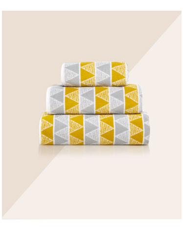 Geometric Towel Range