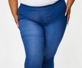Denim jeans.