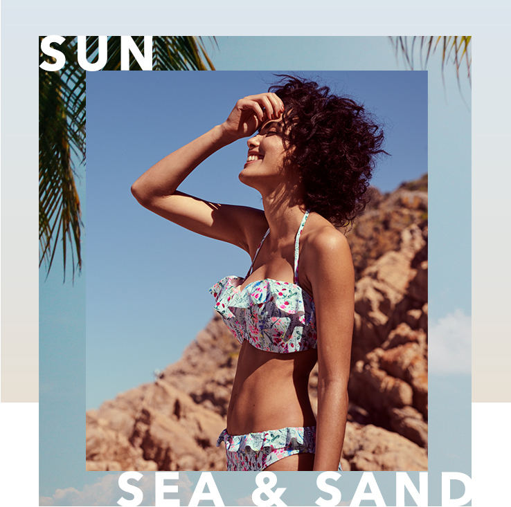 From swimwear to sandals, check out our women's holidaywear to ensure your holiday goes smoothly.