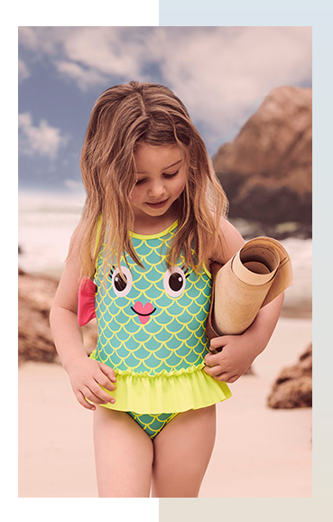 Give them great style on their holidays with our wide range of holiday options for girls