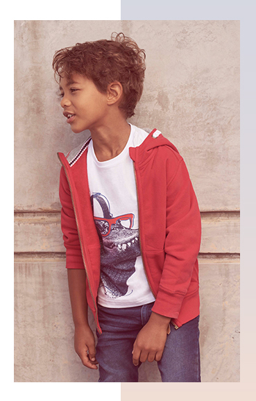 Give them great style on their holidays with our wide range of holiday options for boys
