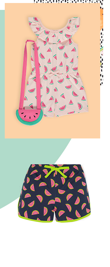 Discover our watermelon-inspired clothing range
