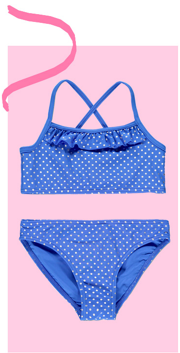 Dive into the latest swimwear and bikini sets for little ones at George.com