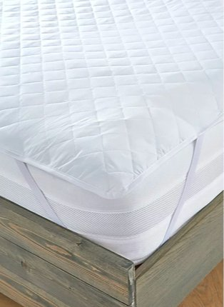 Luxury deep fill mattress protector.