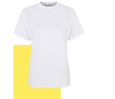 Add a classic white tee to your summer workwear wardrobe