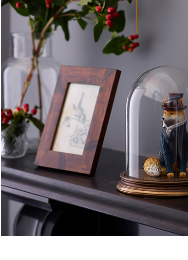 Bring a touch of rustic charm into your home with our Modern Heritage accessories collection at George.com