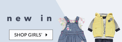 From babygrows to dresses, see what's new at george.com