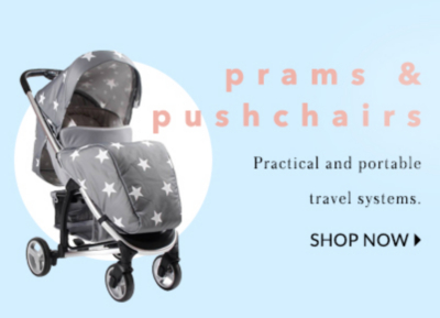 Find the perfect puschair and travel systems for your little one at George.com