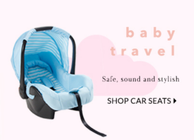 Ensure your baby travels safe with our selection car seats at George.com