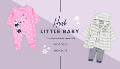 Shop baby nightwear clothing at George.com
