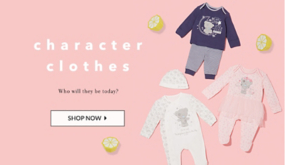 Shop all their favourite characters and see what's new at george.com