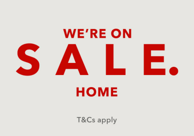 Turn your house into a home with up to 50% off at George.com