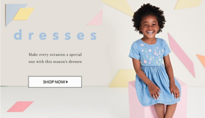Perfect for parties or everyday, check out our range of girls' dresses at george.com.