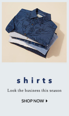 Browse this season's shirts at George.com