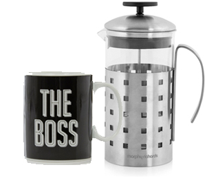 Tickle his taste buds with our range of cooking essentials from toasters to mixers and coffee machines at George.com
