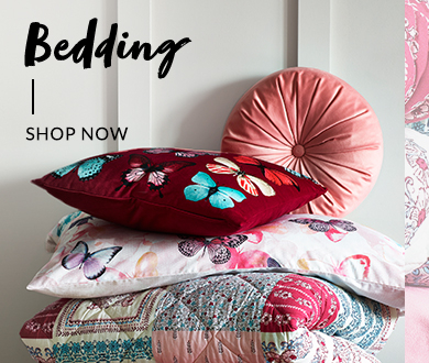 Refresh your sleep space this season with new bedding at George.com