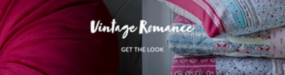 Add a vintage touch to your home this season with our Vintage Romance collection at George.com