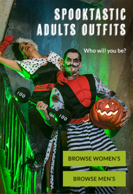 Prepare to scare this Halloween with our fancy dress range at George.com