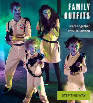 Frighten together this Halloween with our range of family outfits at George.com