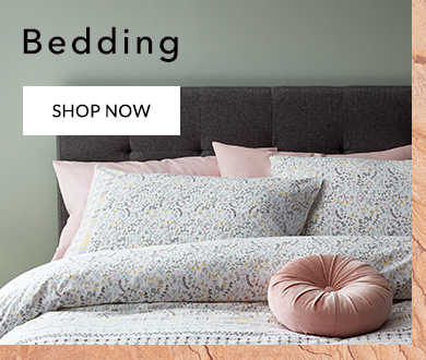 Refresh your sleep space with our beautiful range of bedding and duvet sets