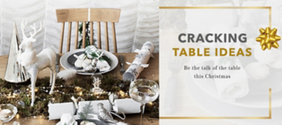 Throw the perfect Christmas party with our gorgeous range of dinnerware