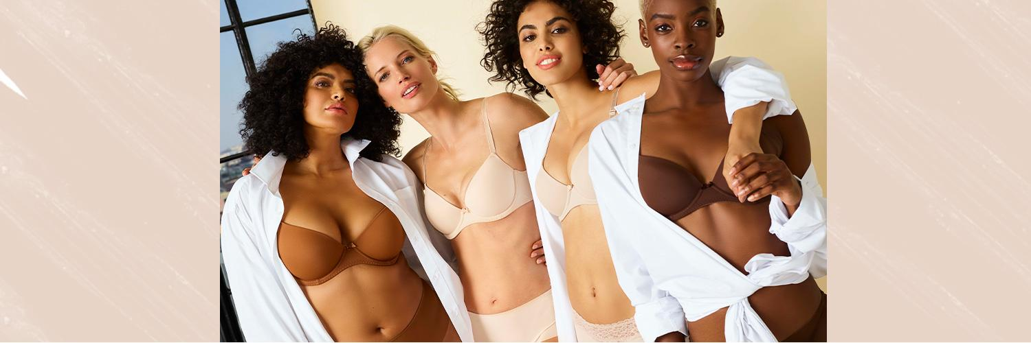 Find your shade of nude with our new collection