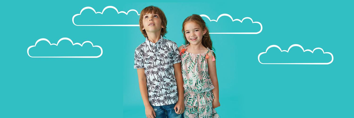Discover our kids' spring collection