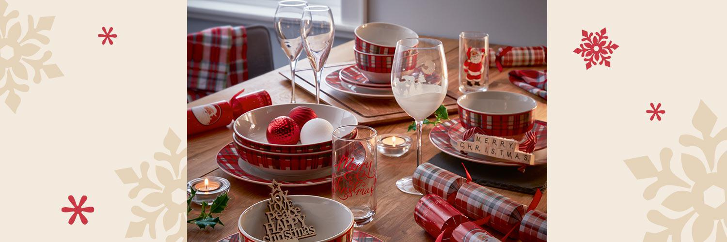 Find everything you need to lay the perfect table this Christmas