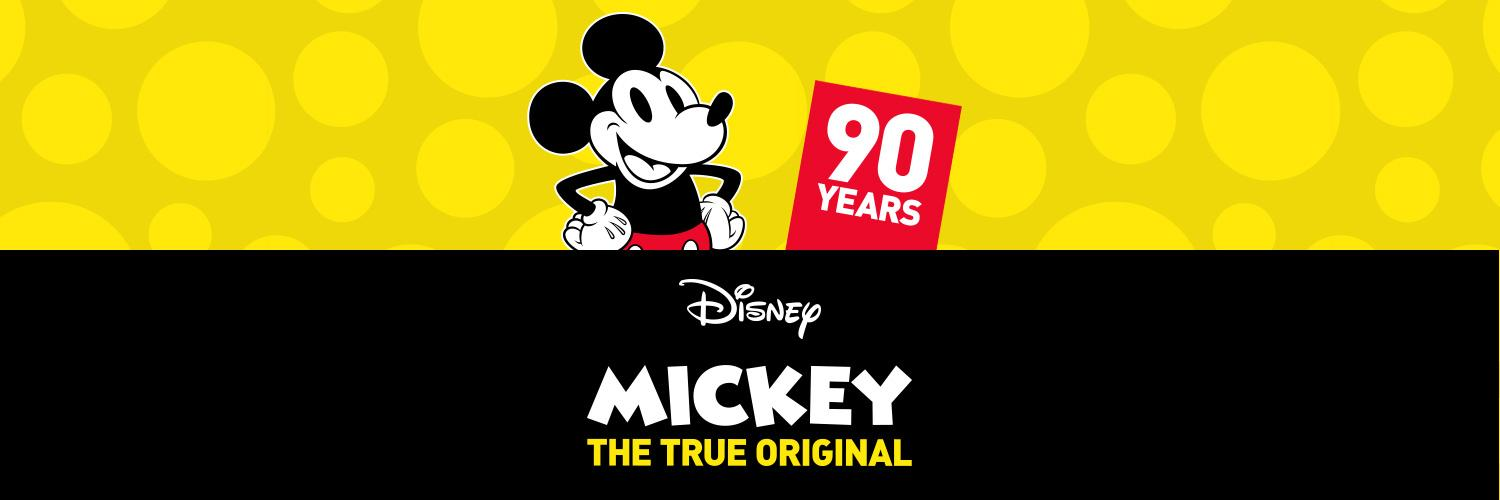 Celebrate Mickey's 90th with our fun range of clothing and accessories