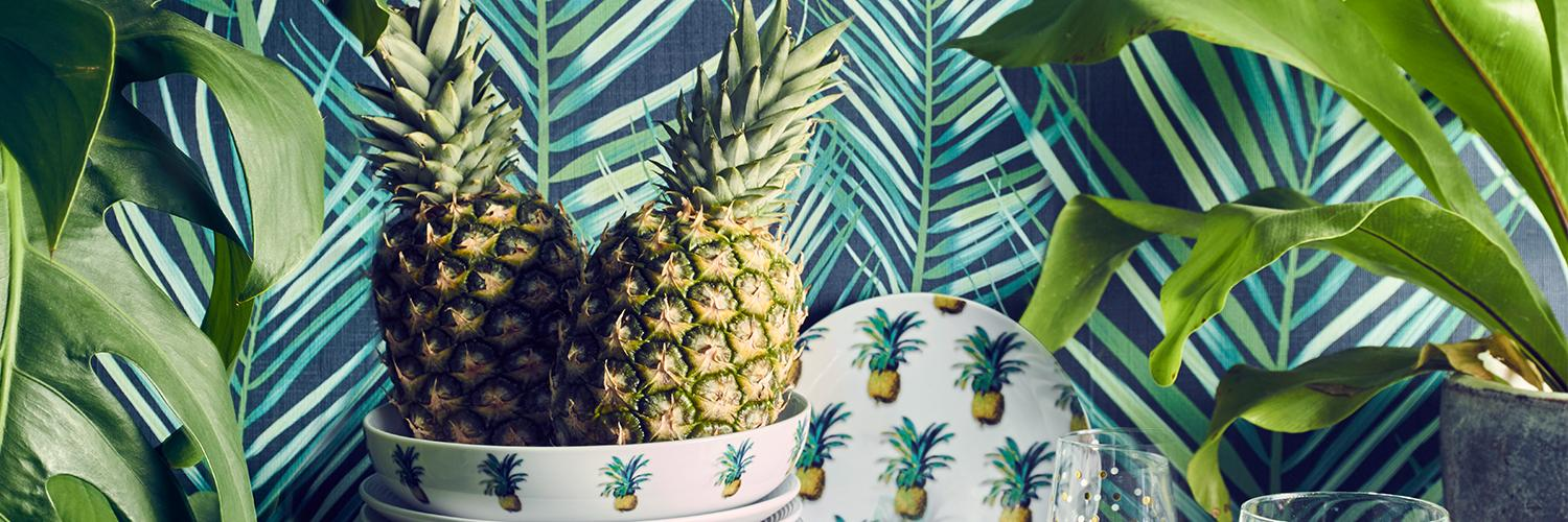Discover our new range of pineapple-inspired home accessories