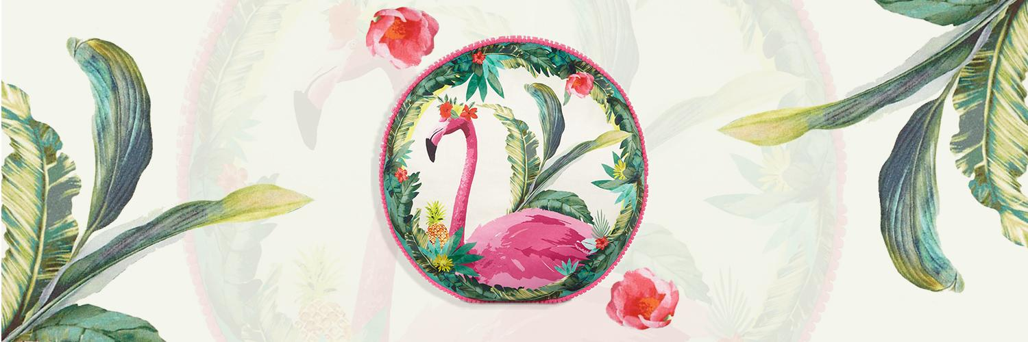 Shop our range of flamingo-inspired accessories