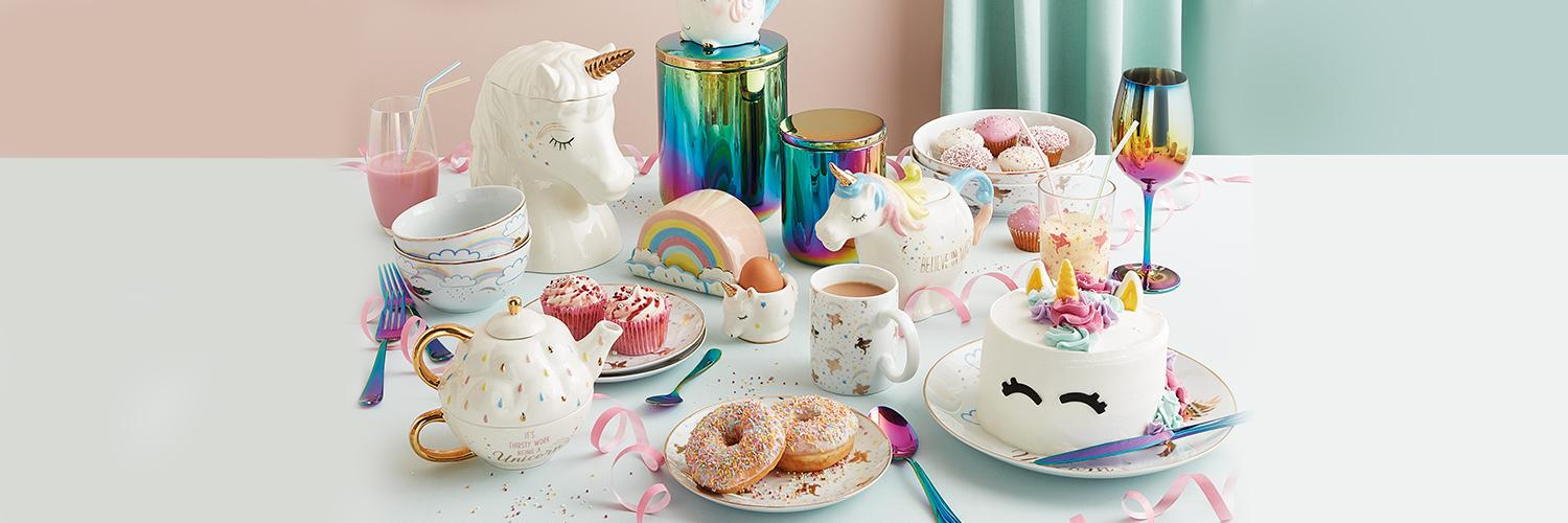 Shop our unicorn-inspired home collection