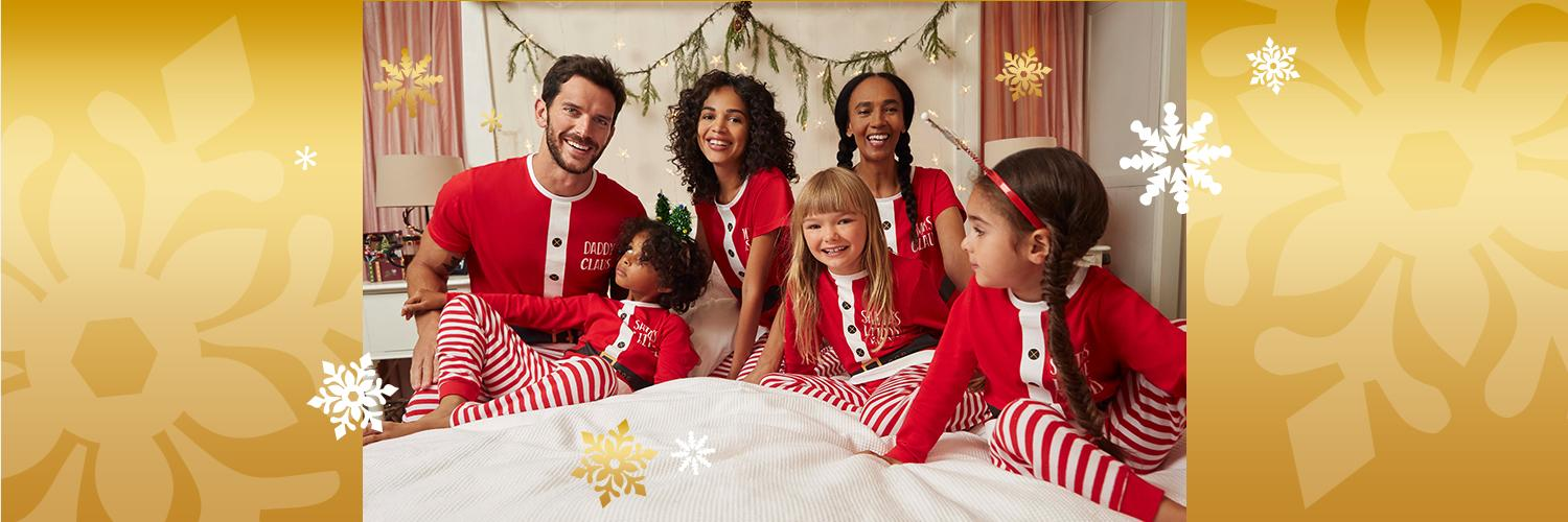 Get the family involved this Christmas with our festive clothing range