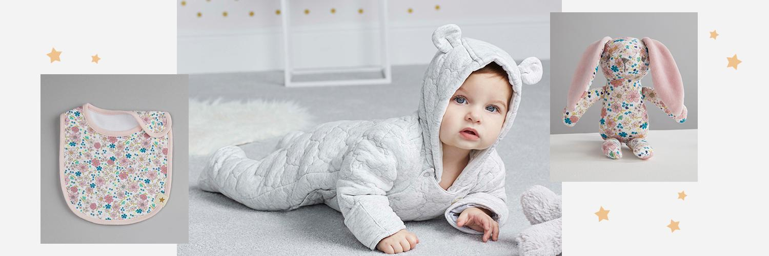 Find all you need for your newborn with our new Billie babywear range, exclusively designed by Billie Faiers