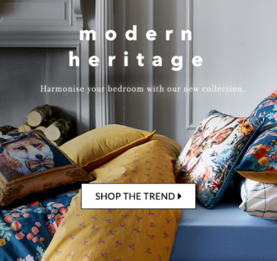 Live cosy with this season's modern heritage trend at George.com