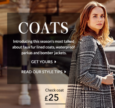 Who'd have thought layering up could look this good? Discover coats and jackets at George.com