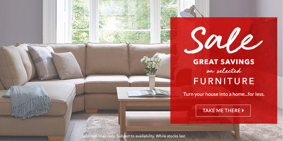 Dont miss out on the latest offers on our fantastic furniture range at George.com