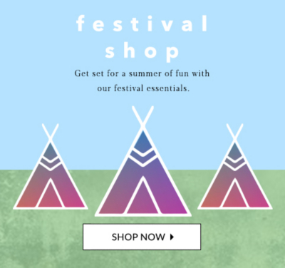 Get ready for festival season with the latest clothing and essentials at George.com