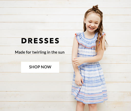 Kit your little one out with our beautiful range of girls' dresses