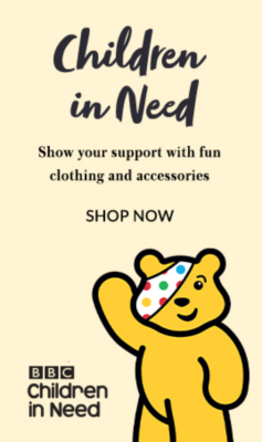 Support Children in Need with our clothing range at George.com