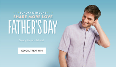 Find the perfect gift for him this Father's day