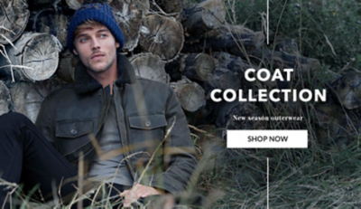 Browse our range of men's winter coats and jackets