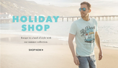 Jetting away? Browse our holiday shop at George.com