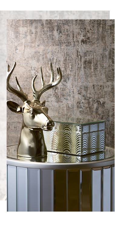 Add a luxe finishing touch with ornaments and accessories from our Modern Opulence range at George.com