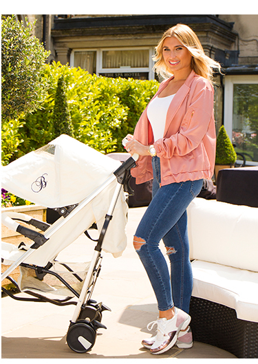 Explore Billie Faiers' My Babiie travel accessories range at George.com