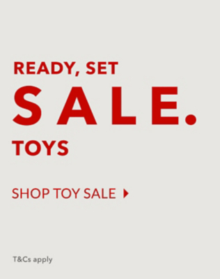 Make every day play day with our toy SALE now on at George.com