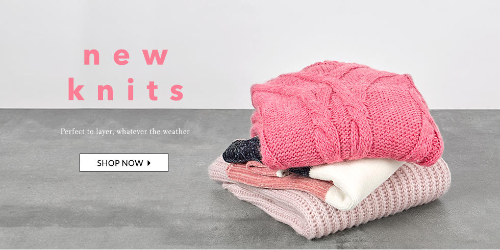 Wrap up the new season with stylish knitwear at George.com