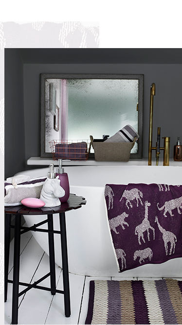 Refresh your bathroom with this season's Soulful accessories at George.com